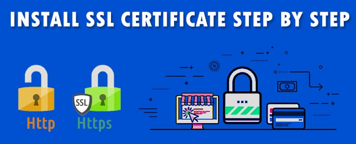Install SSL certificate step by step