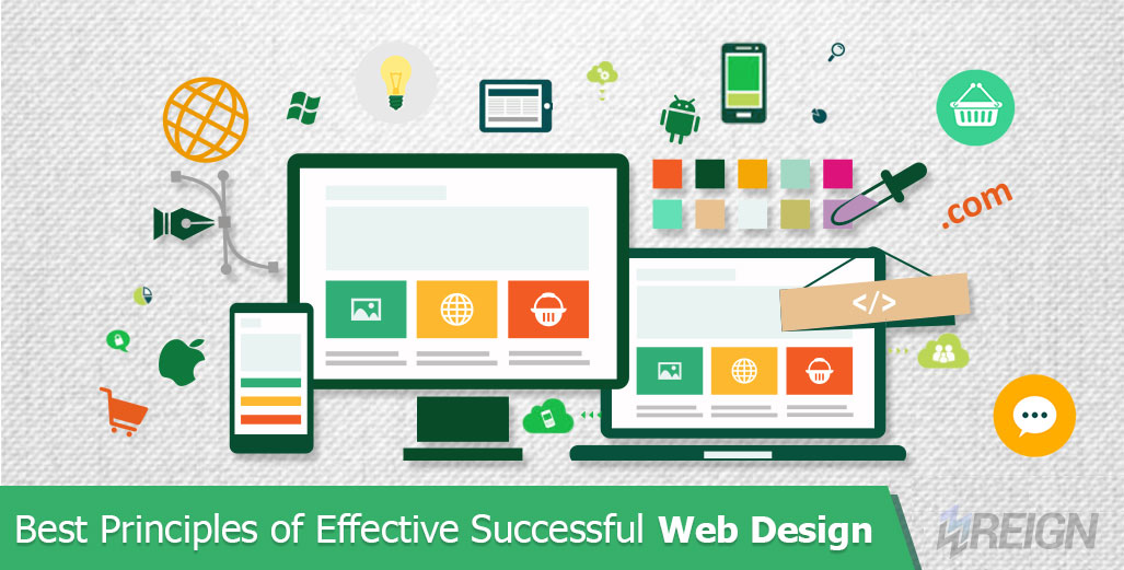 principle of effective web design