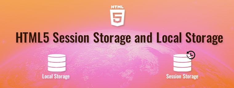 local storage and session storage